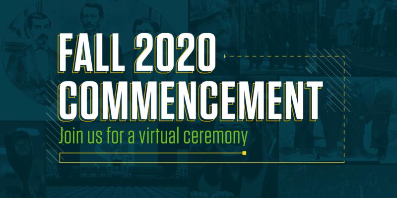 Virtual commencement ceremony set for Dec. 19