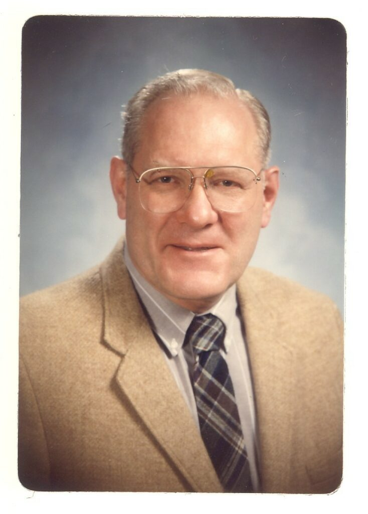 Dick Hagni portrait