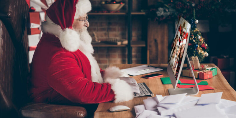 Free virtual Santa visits planned for faculty, staff, children