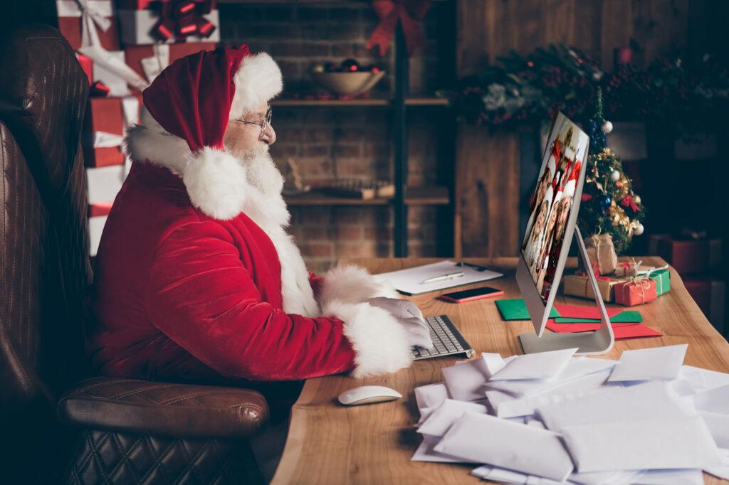 Santa Claus desk