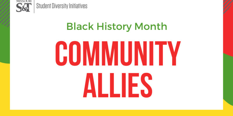 Black History Month community allies fair coming up