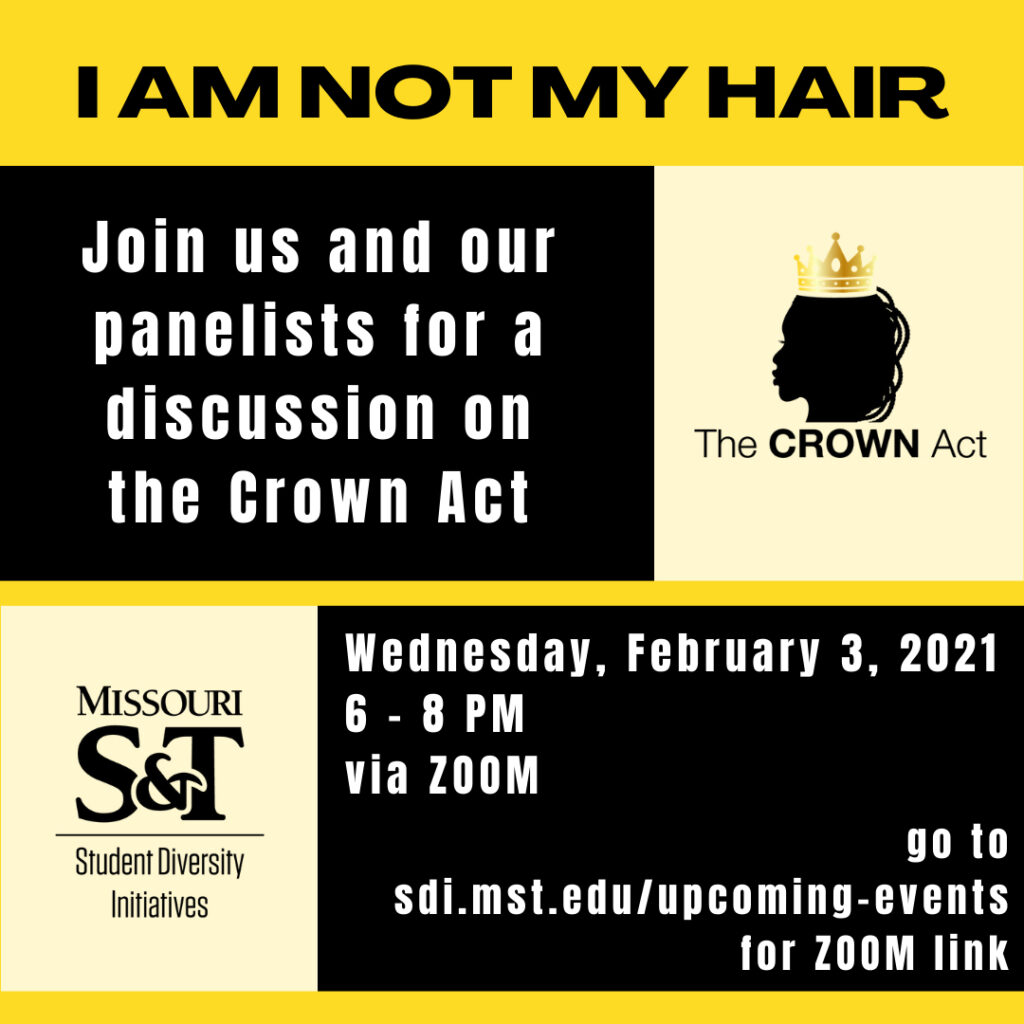"""""""I am not my hair"""" graphic"""