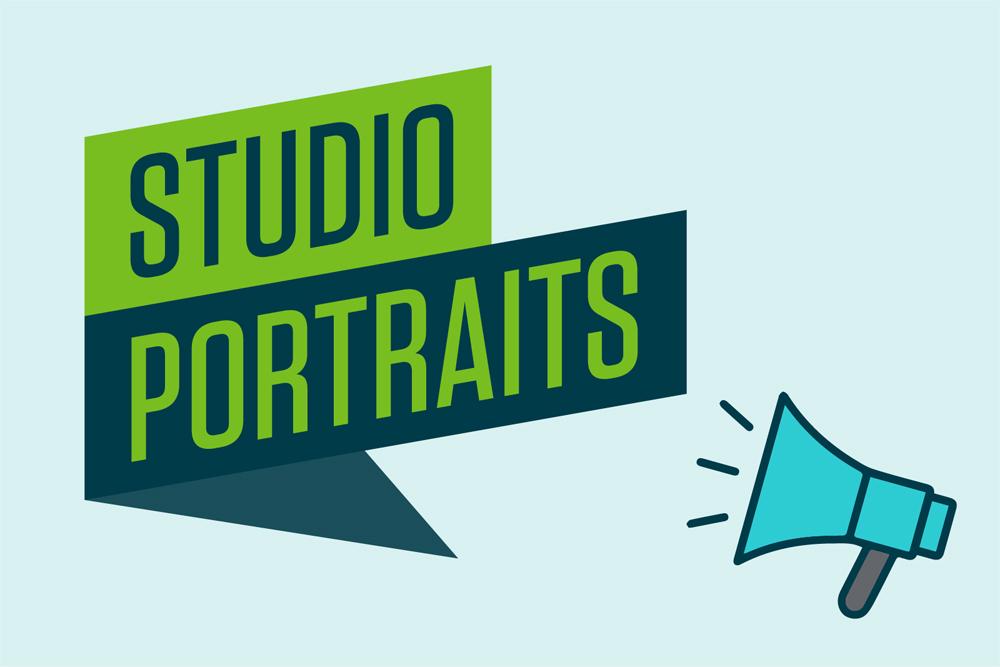 Studio Portraits graphic