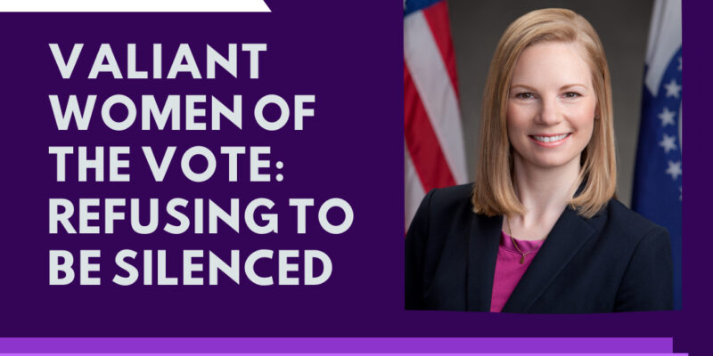 Galloway to speak about voting rights for women
