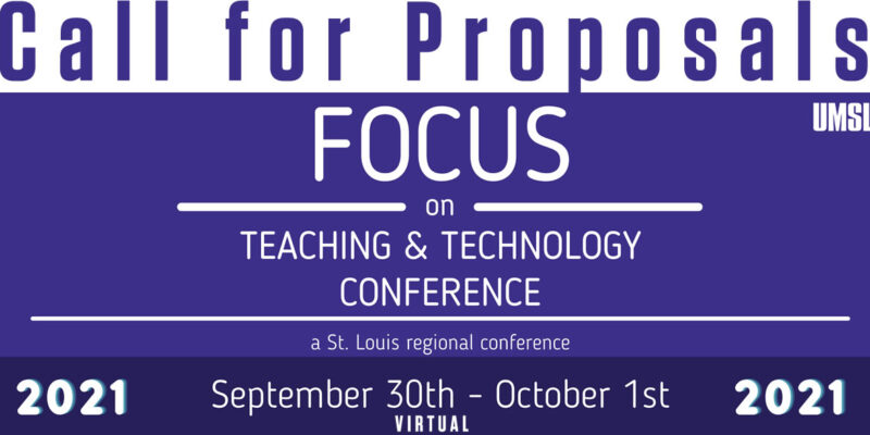 Submit a proposal for teaching, technology conference by April 30