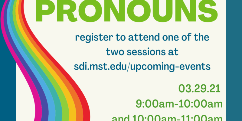 Sign up for pronouns training