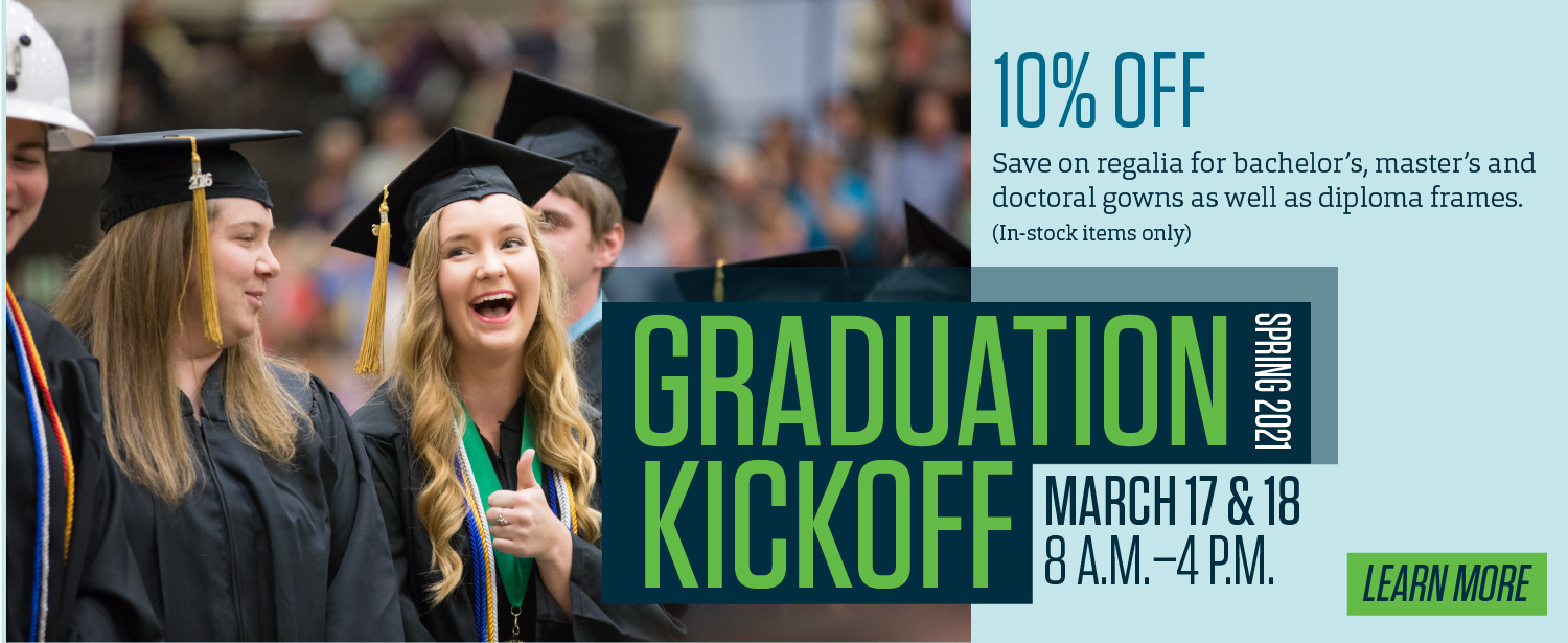 Graduation Kickoff graphic