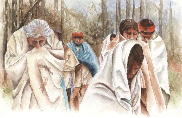 Trail of Tears illustration