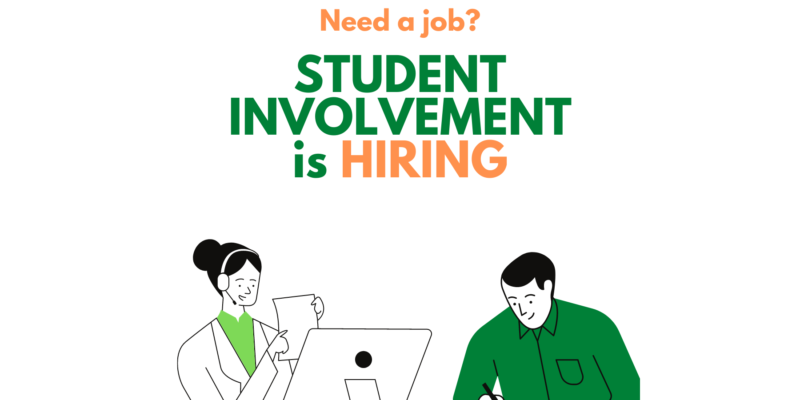 Student Involvement is hiring!