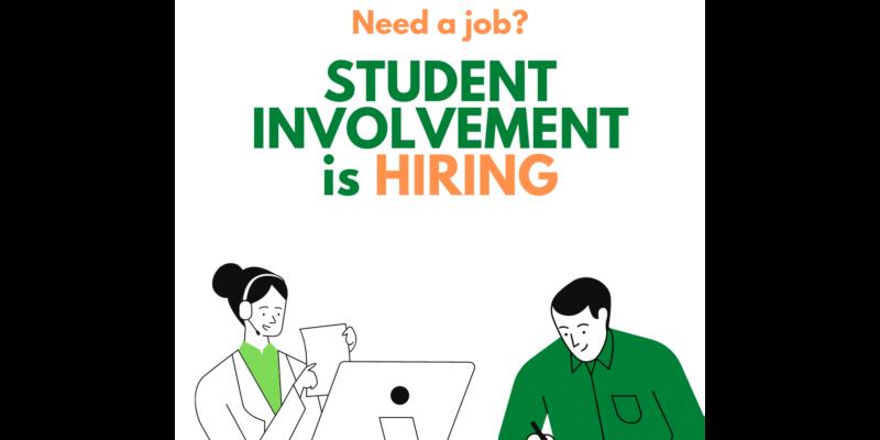 Student Involvement is hiring!