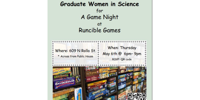 GWIS Game Night Event