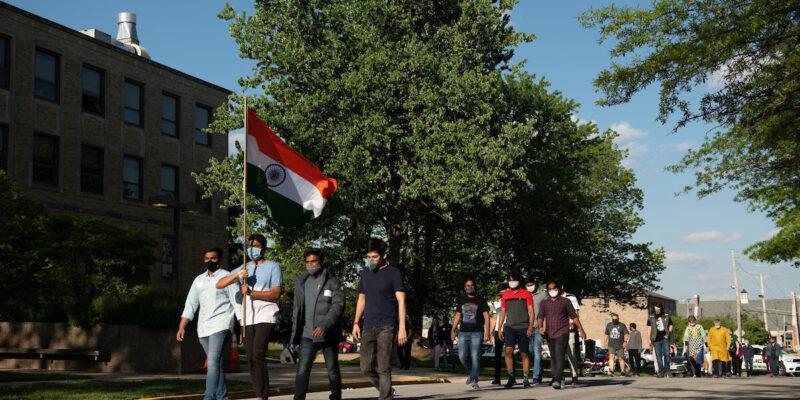 Walk for India event raises over $4,000