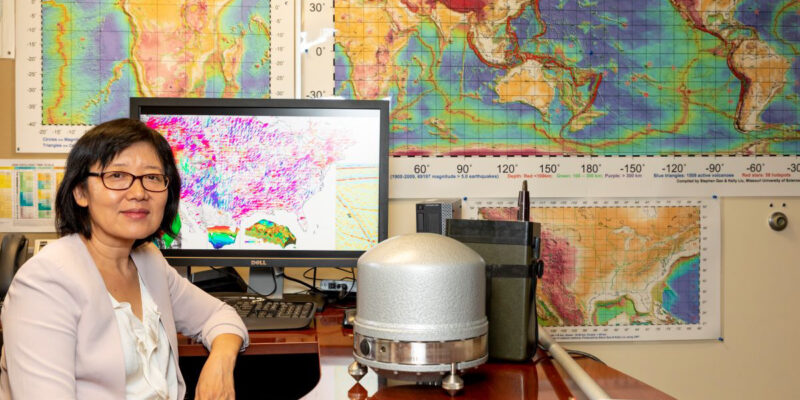 Geophysicist named outstanding educator