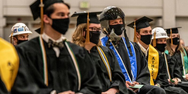 Facial coverings required at July 31 commencement