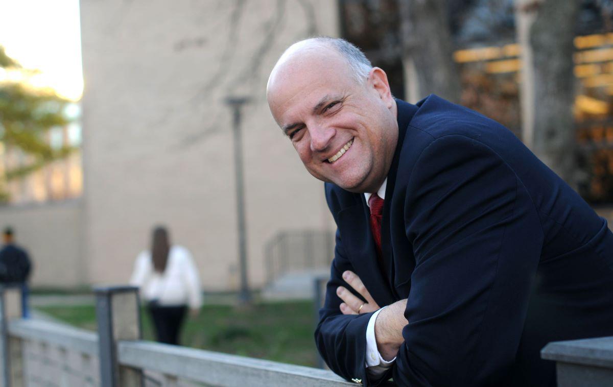 William Schonberg on campus