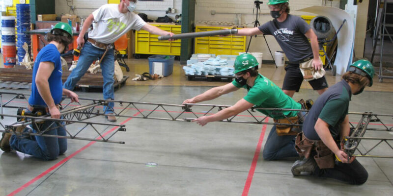 Steel bridge team faces strong competition at nationals