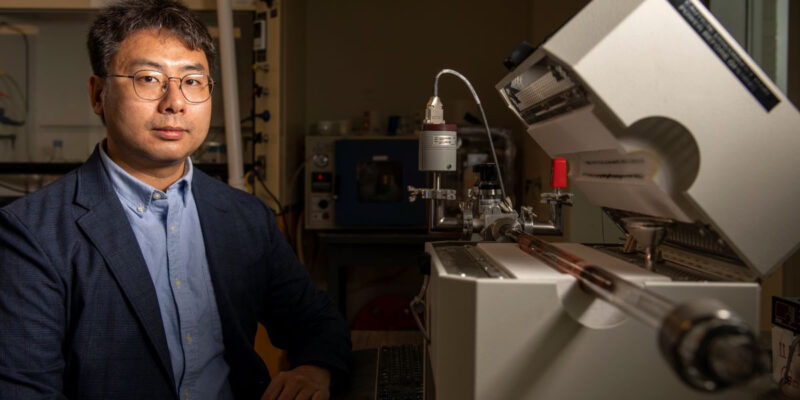 Wu receives NSF award for 2D metals research