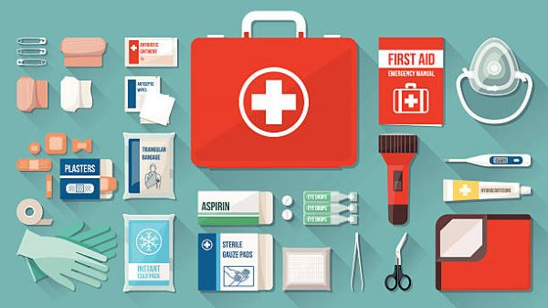 Tips for packing a first aid kit or quarantining