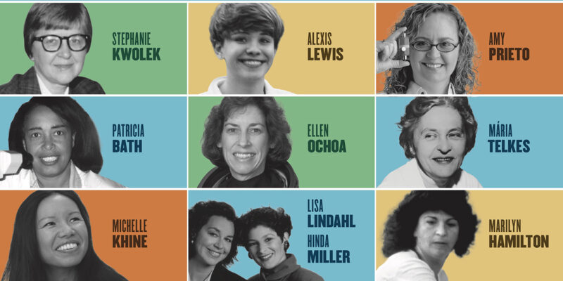 Picture women inventors at Smithsonian poster exhibit