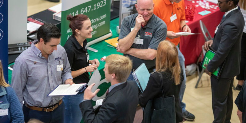 Career Fair questions? Here are the details