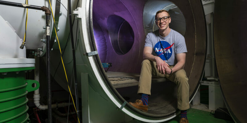 To the moon! Ph.D. student receives NASA research award