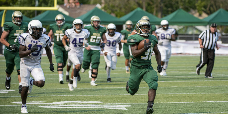 Cheer on the Miners at upcoming athletic events