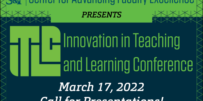 Proposals sought for Innovation in Teaching and Learning Conference