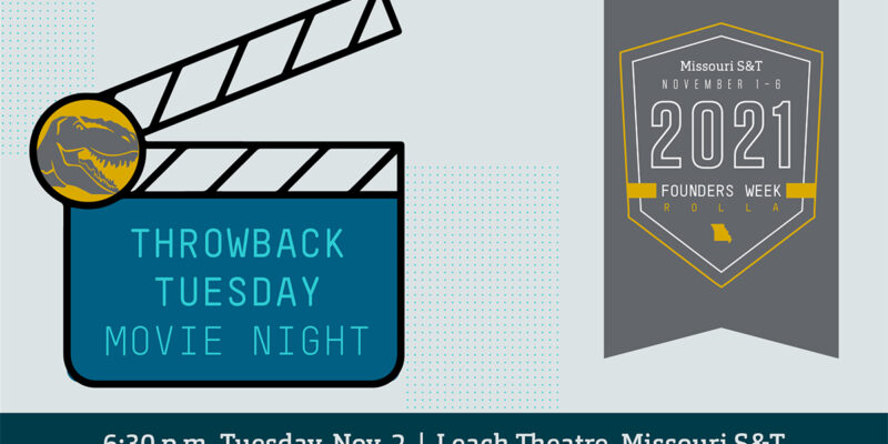 Throwback movie night to feature 'Jurassic Park'