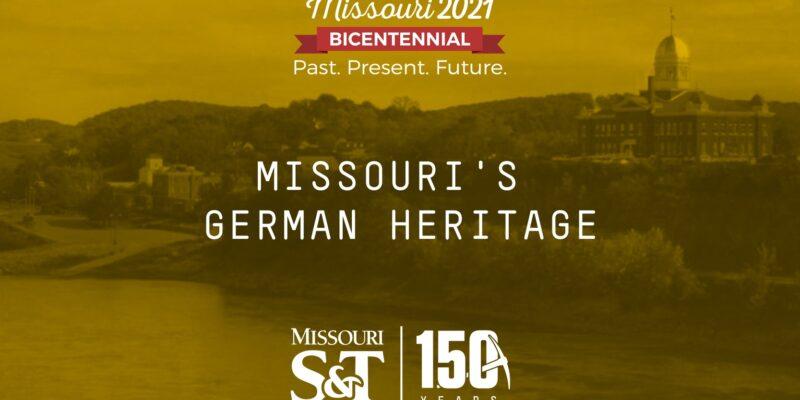 Learn about Missouri's German heritage tomorrow